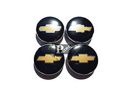 Колпачки на диски CHEVROLET Ø 60-56 - Заглушки для дисков Шевроле