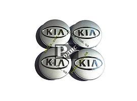 Колпачки на диски KIA Ø 60-56 - Заглушки для дисков Киа