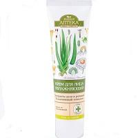 Крем для лица увлажняющий (алоэ, ромашка)  «Зеленая аптека» - для защиты от обезвоживания