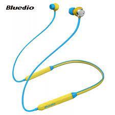 Бездротові вологозахищені стерео навушники - гарнітура Bluedio TN Active Yellow