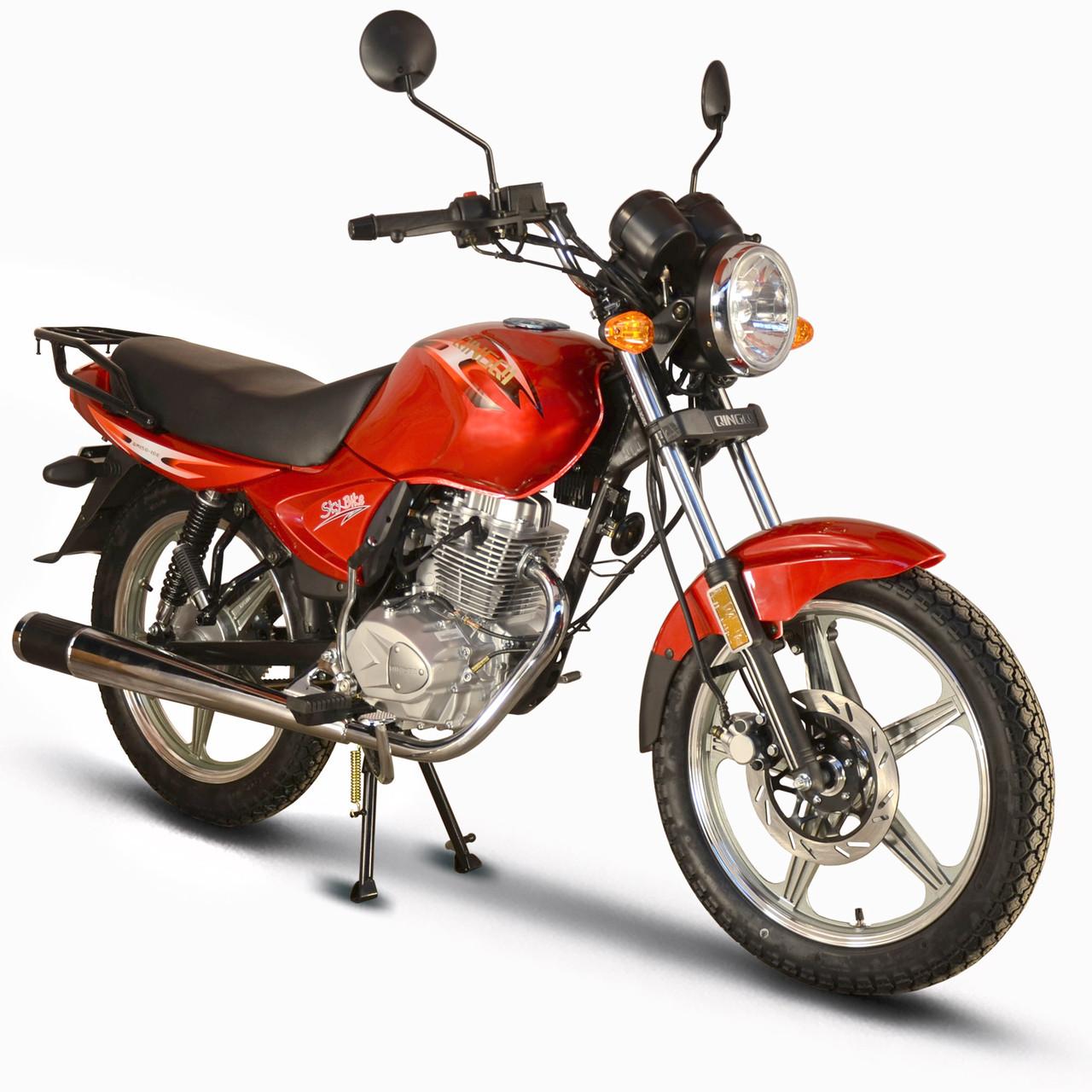 Мотоцикл BURN 150 Красный