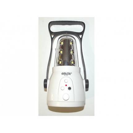 Фонарь-лампа кемпинговая 7667 + FM радио., фото 2