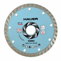 "Алмазный диск по бетону и камню 115 мм ,""TURBO"" Hauer,22-845"