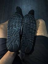 Кроссовки мужские Nike Air Max 90 черные топ реплика, фото 3