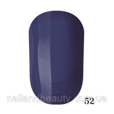 Гель-лак Couture Colour 9 мл №052 Цвет: маренго
