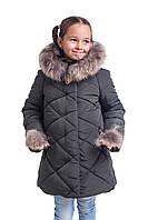 Куртки зимние для девочек от производителя  34-40 хаки