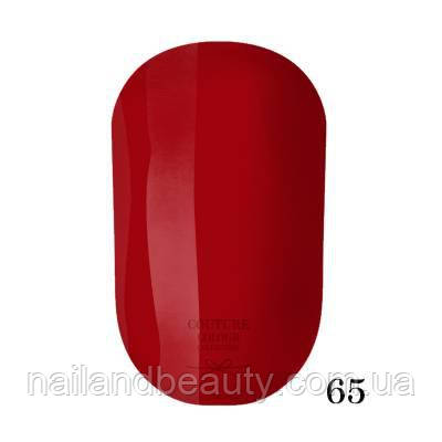 Гель-лак Couture Colour 9 мл №065 Цвет: ярко-красный