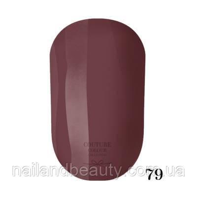 Гель-лак Couture Colour 9 мл №079 Цвет: коричневый с розовым подтоном