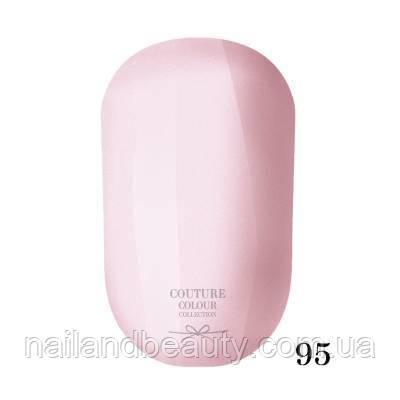 Гель-лак Couture Colour 9 мл №095 Цвет: розовый крем