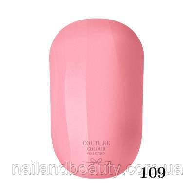 Гель-лак Couture Colour 9 мл №109 Цвет: яркий розовый
