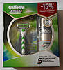 Набор для бритья Gillette Mach3 Sensitive