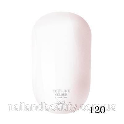Гель-лак Couture Colour 9 мл №120 Цвет: белый,эмаль