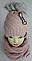 Комплект зимний шапка и баф, акрил, флис, разные цвета, фото 2
