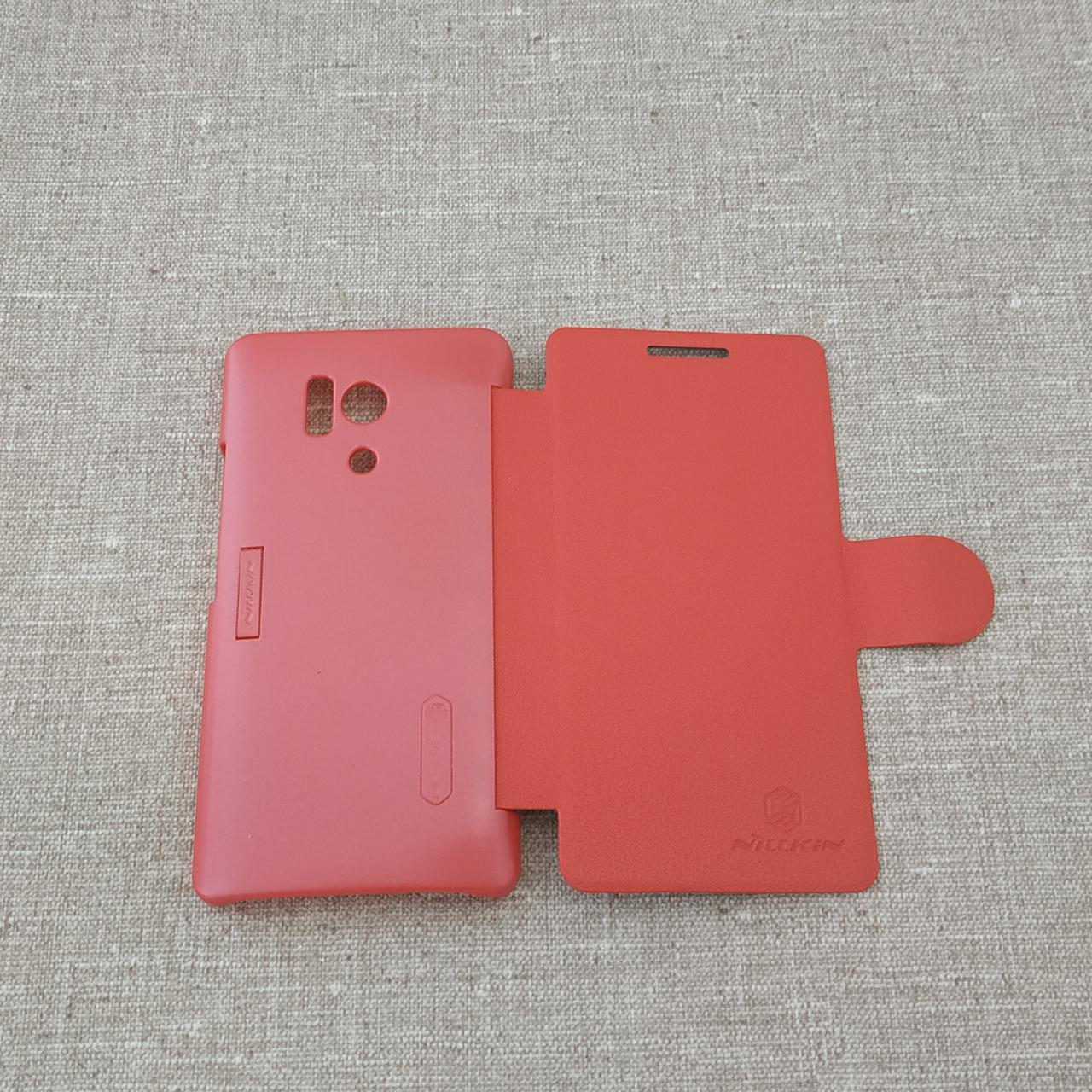 Nillkin Fresh Huawei Honor 3 red Для телефона
