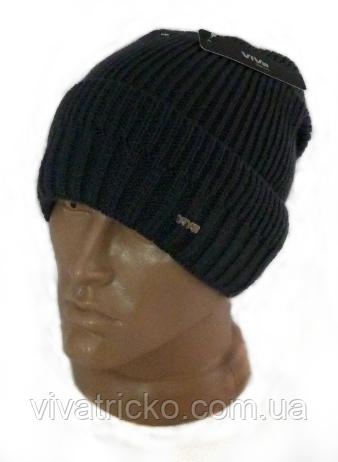 Копия Мужская шапка зимняя, флис м 6123, разные цвета