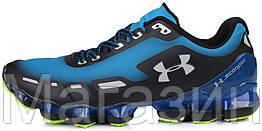 Мужские кроссовки Under Armour Scorpio Blue Андер Армор Скорпио в стиле синие/черные