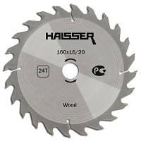 Циркулярный диск Haisser 160x20/16x24 Wood