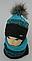 Комплект шапка и шарф м 6142, разные цвета, фото 3