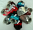 Комплект шапка и шарф м 6142, разные цвета, фото 4