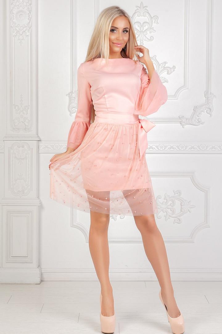 7dc32ff337493b2 Классное платье со съемной верхней сеткой - Интернет-магазин