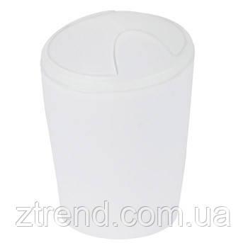 Ведро для мусора Spirella MOVE (белый)