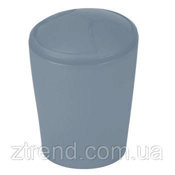 Ведро для мусора Spirella MOVE (серый)