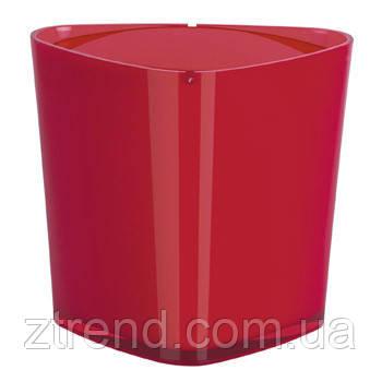 Ведро для мусора Spirella TRIX ACRYLIC (красный)