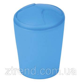 Ведро для мусора Spirella MOVE (синий)