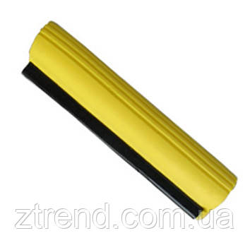 Запаска на швабру 27см (желтая)