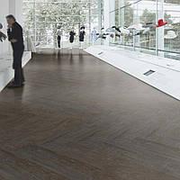 Forbo  w60345 brown silver rough oak  виниловая плитка Allura Wood , фото 1