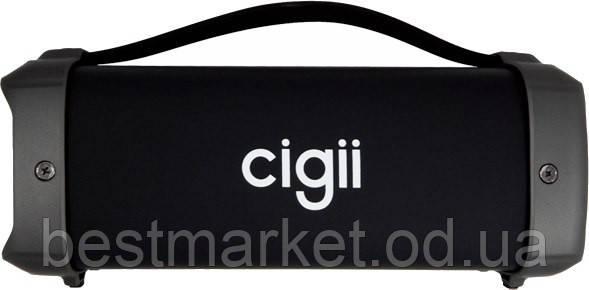 Беспроводная колонка Cigii F61 (Bluetooth, MicroSD, USB, FM, AUX, 10W)
