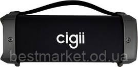 Бездротова колонка Cigii F61 (Bluetooth, MicroSD, USB, FM, AUX, 10W)
