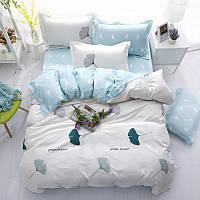 Комплект постельного белья Зеленое сердце (полуторный) Berni