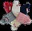Комплект для девочки шапка на флисе и шарф р 3-12 лет, фото 3