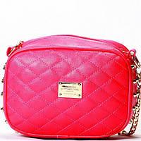 Женская сумка - клатч в стиле Chanel малинового цвета