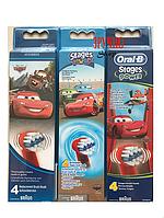 Насадки EB10 для зубных щеток Oral-B Stages Power (тачки) 4 шт. 7f975017d502c