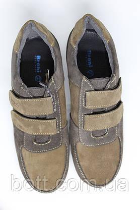 Кроссовки замшевые на липучках унисекс, фото 3