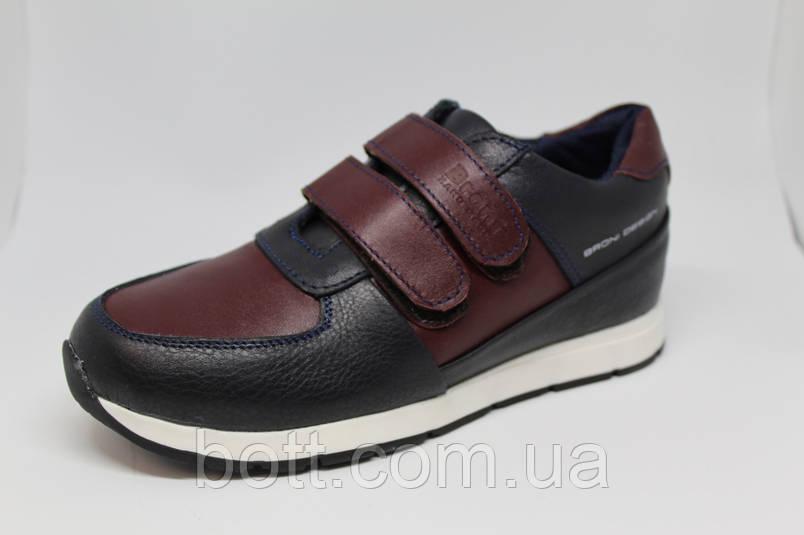 Кроссовки кожаные унисекс, фото 2