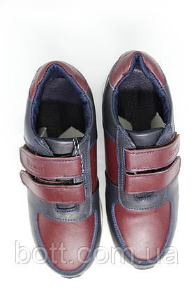 Кроссовки кожаные унисекс, фото 3