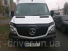 Зимня накладка (глянсова) Mercedes Sprinter W906 2013-  (верх решітка)