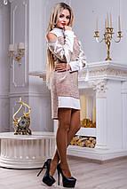 Женское платье с имитацией двойки (2475-2477-2478-2479 svt), фото 3