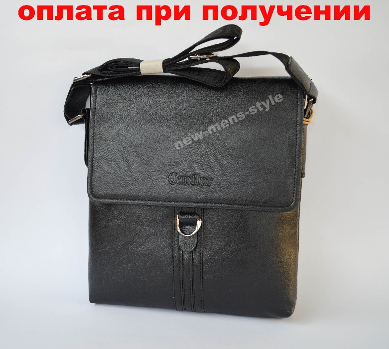 8d8c04fe872a Мужская кожаная фирменная сумка барсетка Cantlor классика чоловіча -  Кристалл в Киеве