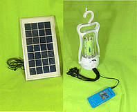 Светодиодный фонарик для кемпинга 077, зарядное устройство usb для мобильника, солнечная батарея, аккумулятор