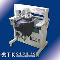 VT-121D  машина для установки страз, металлических гвоздиков и прочей фурнитуры на крой и готовые изделия
