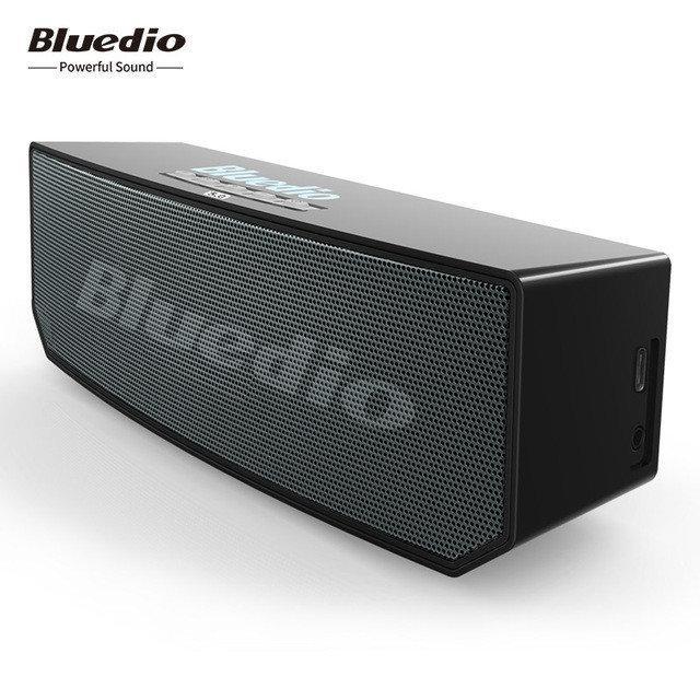 Беспроводная Bluetooth колонка Bluedio BS-6. Черный цвет. Bluetooth 5.0