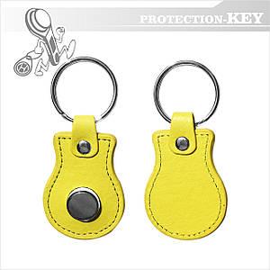 Ключ-заготовка TM08V2 Кожа для копирования домофонных ключей Dallas (таблеток)