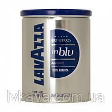 Кофе молотый Lavazza InBlu  Espresso  ,  250г , ж\б