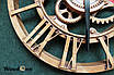Годинник настінний шестерня, фото 2