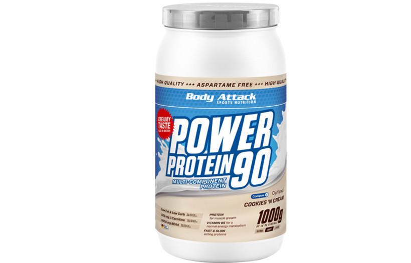 Протеїн Body Attack power protein 90 - 1 kg. (ВАНІЛЬ)