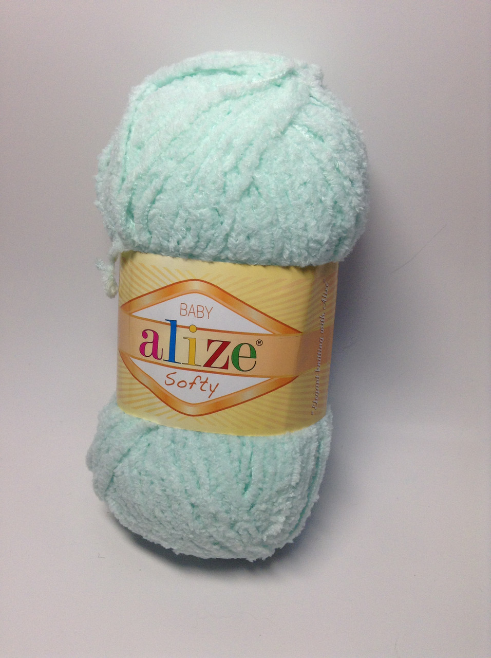 Пряжа softy Alize (плюшева)